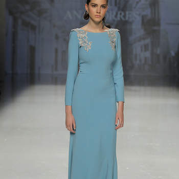 Ana Torres. Credits: Barcelona Bridal Fashion Week