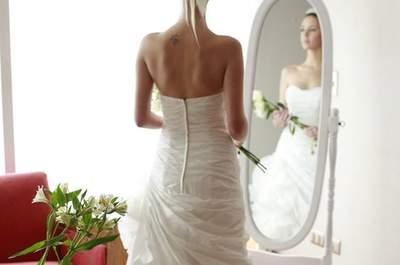 Un estilo de novia romántico para un look 10