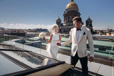 Утонченная Бондиана: стильная свадьба Даниэлы и Виталия