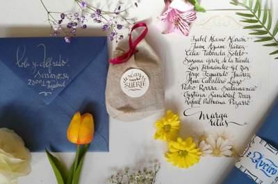 Las invitaciones de boda más originales de Madrid