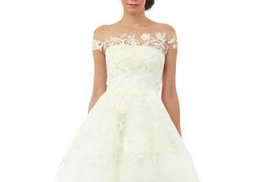 Intensa feminidad: Los vestidos de novia Oscar de la Renta otoño 2014 te llevarán al cielo