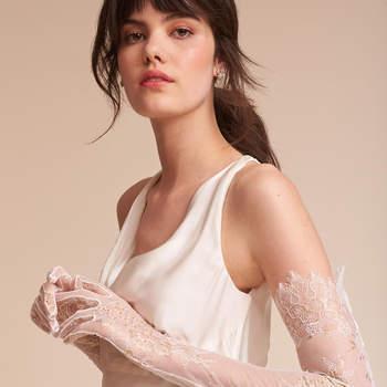 Adalia Lace Gloves. Credits- Bhldn