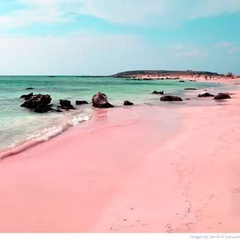 Praia de Elafonissi - Grécia Via: Pinterest