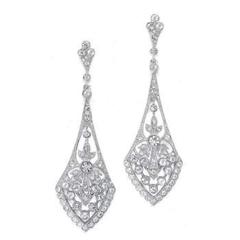Photo : Carini Accessoires. Boucles d'oreilles pendantes