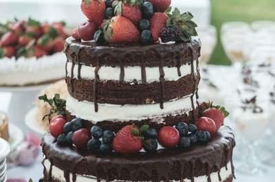 El pastel que te encantará tener en tu boda. ¡Endulzarás!