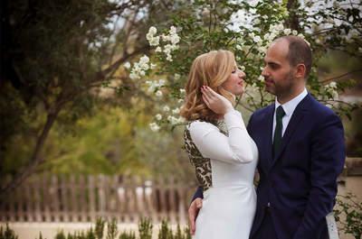 Verde que te quiero verde: la boda de Julia y Luis