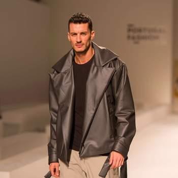 Ruben Rua desfila no Portugal Fashion   Foto via Instagram