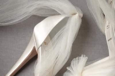 Edle Brautschuhe für eine Vintage Hochzeit