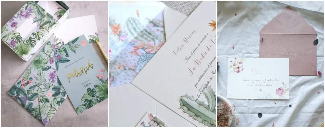 Convites de casamento: tome nota e convide com estilo!