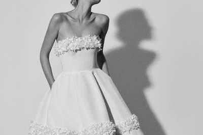 Los 50 vestidos de novia con falda voluminosa que te inspirarán. ¡Encuentra tu favorito!