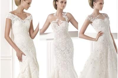 Descubre los precios de los vestidos de novia de Pronovias 2015