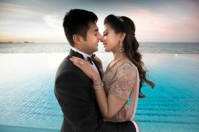 The fairytale wedding of Vivek and Shruti- the one that was at the Burj-Al-Arab