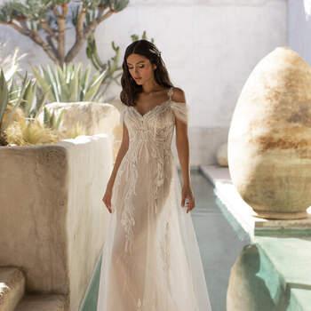 Vestido de Novia con estilo Vintage - Créditos: Pronovias 2021