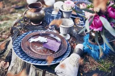 Une inspiration Viking en forêt pour un mariage hors du commun