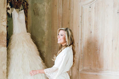 Bridal dressing gowns: get prepped in style on your big day!