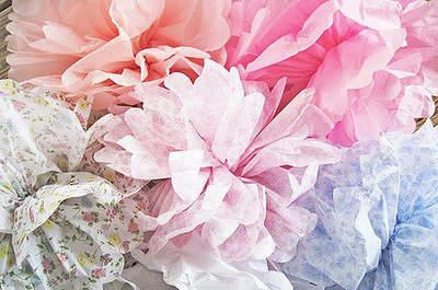 Le papier est top tendance pour la décoration de mariage