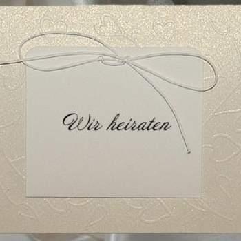 Hochzeitskarte. Foto: Deko&Co.