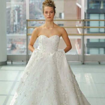 Kleid von Gracy Accad,, Credits:  New York Bridal Week