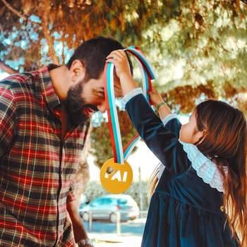 Gonçalo Uva: «Contente de ter sido premiado com a medalha de melhor pai da note!» | Foto reprodução Instagram @goncalouva