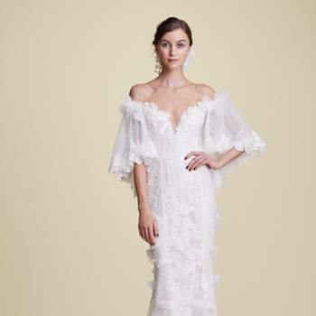 Tilly with Sleeves. Marchesa