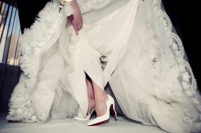 Fizemos uma seleção dos sapatos de noiva mais clássicos e atemporais! Descubra os que nunca saem de moda