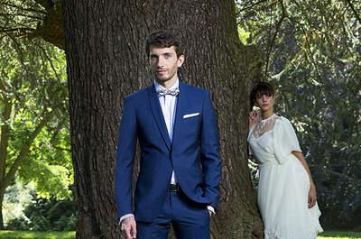 Costume de marié sur mesure de qualité et à un excellent rapport qualité prix : Samson