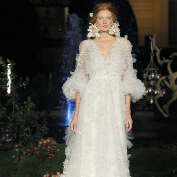 Marchesa. Créditos: Valmont Barcelona Bridal Fashion Week