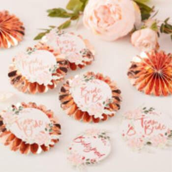 Rosettes Floral Team Bride 6 Pieces - The Wedding Shop !