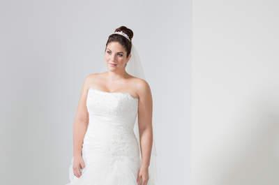 Designer Brautmode für kurvige Frauen: Mery's Couture zeigt die Trends 2016!