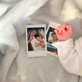 Maya Booth deu à luz no dia 27 de dezembro. | Foto via Instagram @ mayabooth