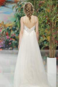 Vestidos de novia espalda descubierta 2017