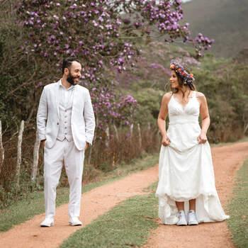 Elopement na Cachoeira  de Aline e Bruno