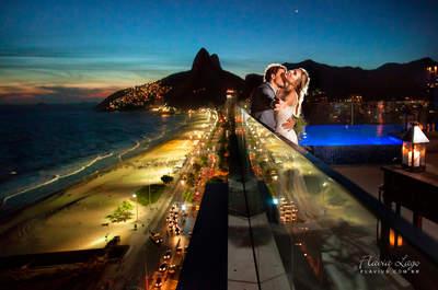 Casamento lindo de Isabela e Luiz Felipe: com vista estonteante para a Praia de Ipanema