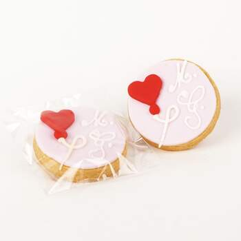 Biscuit Ballon Coeur -  The Wedding Shop !