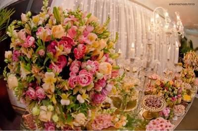 Decoração e flores: Patricia Ramos   Foto: Erika Machado