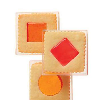 Galletas en presentación individual, excelentes para colocar en cada sitio o entregar a cada invitado durante el postre.