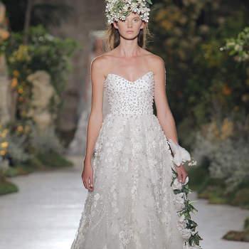 Reem Acra. Credits_ Barcelona Bridal Fashion Week
