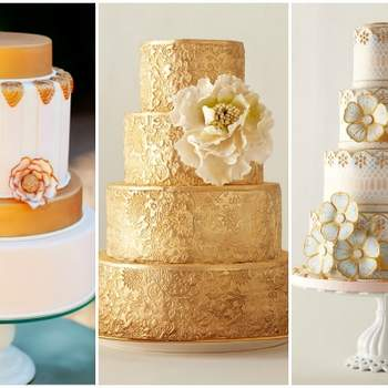 Foto: AK Studio&Design, City Sweets&Confections, Anna Williams-Romantic Wedding Cakes by Kerry Vincent-