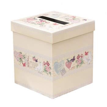 Caja para mensajes Love- Compra en The Wedding Shop