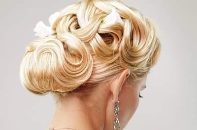 Looks y accesorios para triunfar con tu peinado de novia