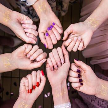 Tatuajes despedida de soltera oro 15 unidades- Compra en The Wedding Shop