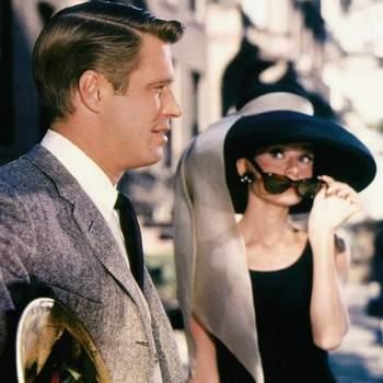 Audrey Hepburn em Breakfast at Tiffany's, 1961