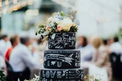 Chalkboard Cake: La nueva tendencia de pasteles con efecto pizarra para este 2017