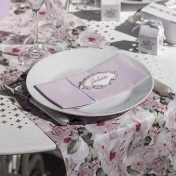 Rouleau De Table Motif Bucolique - The Wedding Shop !