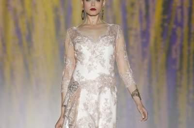 Los vestidos de novia románticos de Patricia Avendaño 2015