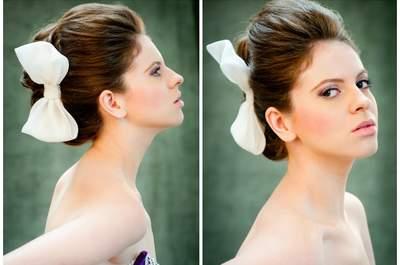 Tendência penteados para noivas verão 2013