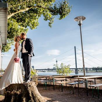 Foto: David Hallwas, Hochzeit von Kris & Pascal