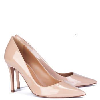Chaussures de mariée blanches Mila, Pura López