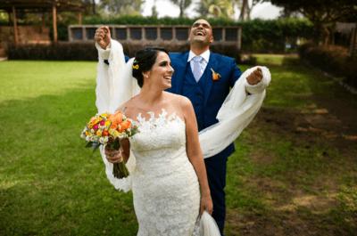 ¿Cómo salir bien en las fotos de boda sin ser modelo? ¡Consigue un bello reportaje fotográfico!