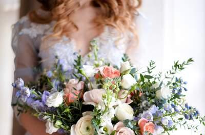 Зимние букеты невесты 2016: советы от профессионалов
